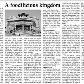A foodilicious kingdom