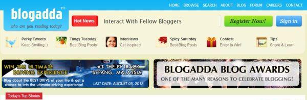 Blogadda Awards