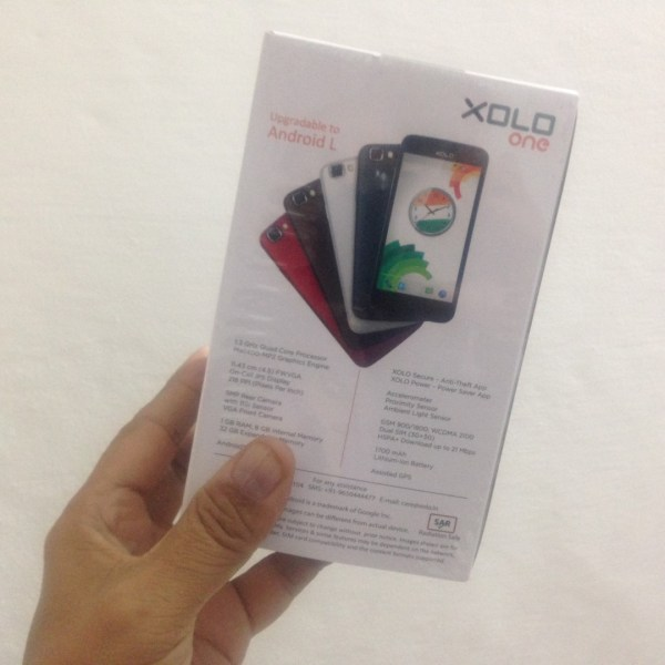 XOLO ONE reviewed