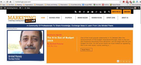 2015_03_02_MarketingBuzzar_A to Zoo of Budget 2015