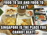 Singapore food meme...