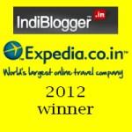 Expedia Travel Blogging Winner - 2012