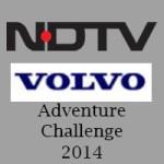 NDTV-Volvo Adventure Challenge 2014