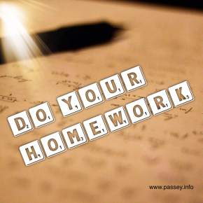 Homework for adults