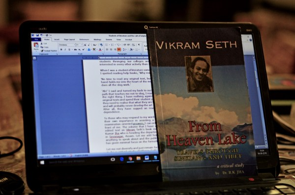'From Heaven Lake: Travels through Sinkiang and Tibet' by Vikram Seth,... A critical study by R K Jha