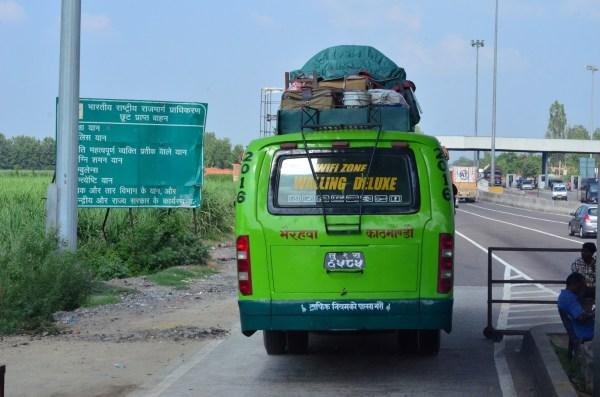 #TheRoyalReuvenation Journey to Namah Resorts. The bus to Kathmandu...