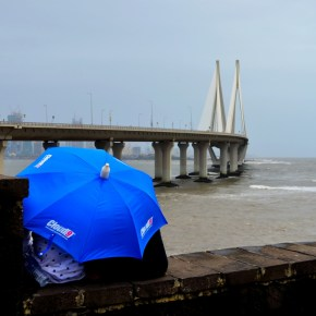 On Cloud 9 and under an umbrella in Mumbai