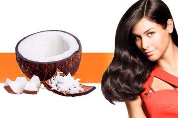 Стайлинг кокосовым маслом
