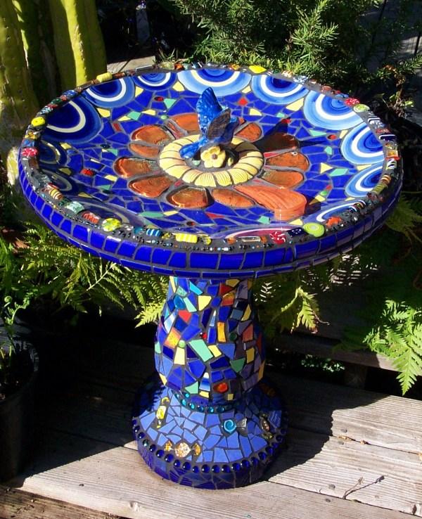 Mosaic Garden Art - Passiflora Mosaics Fred & Donnell Pasion