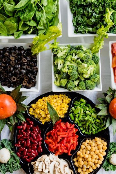 fruit et légume pour des cheveux en pleine santé