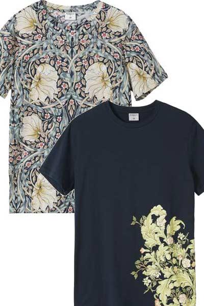 tee-shirt H&M x Morris & Co