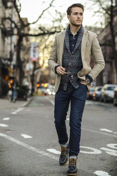 s'habiller en hiver homme