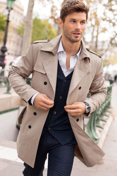 choisir un trench coat court