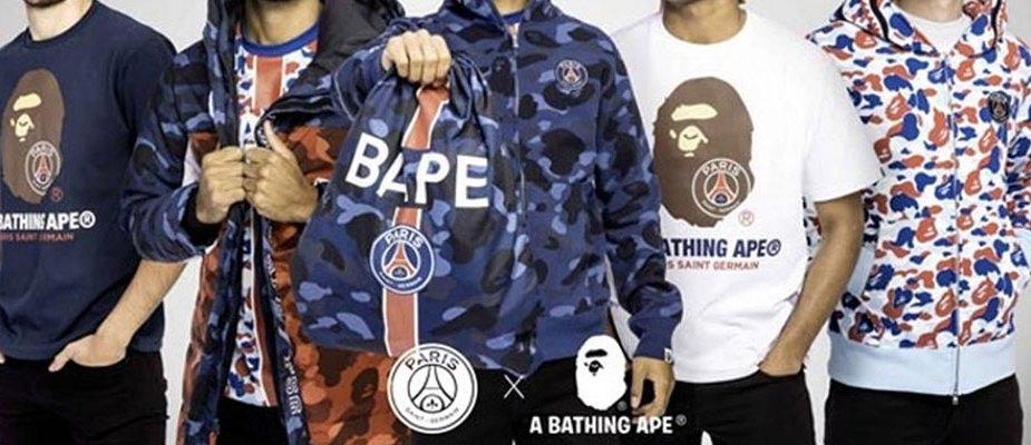 BAPE x PSG