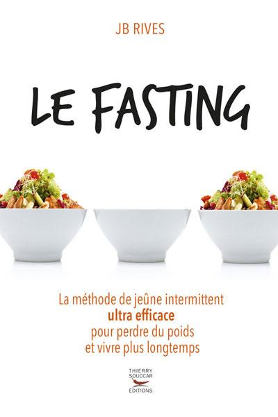 Livre fasting, jeûne intermittent JB Rives