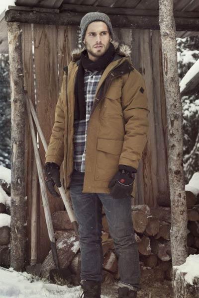 manteau d'hiver parka homme