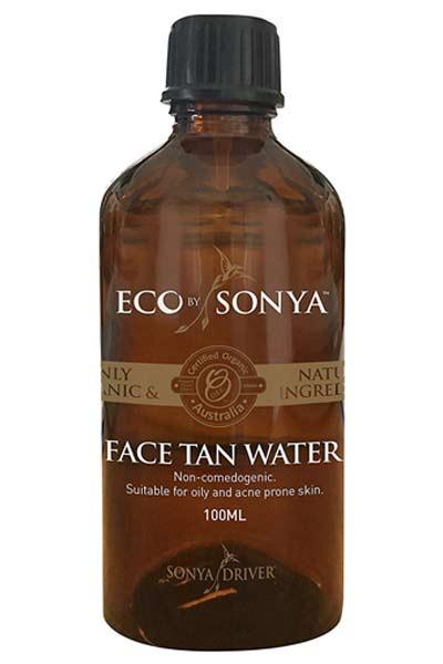 eau auto-bronzante pour avoir un beau visage au masculin
