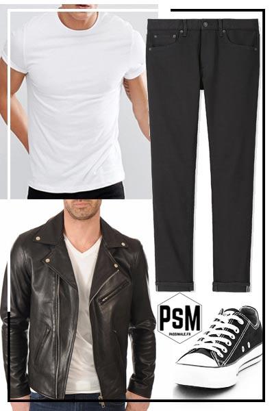 quoi mettre avec un pantalon noir homme