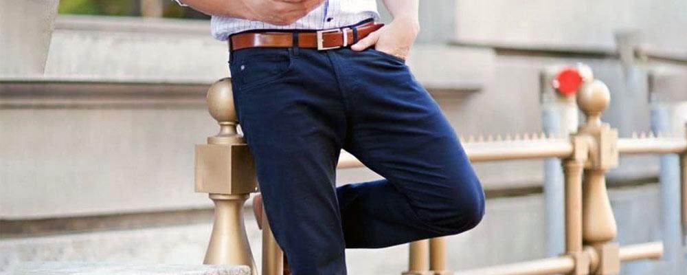 quel haut avec pantalon bleu marine
