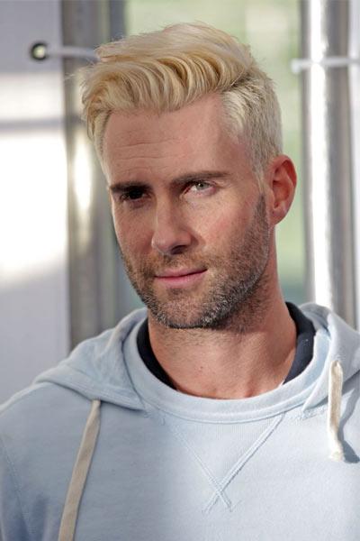 adam levine blond