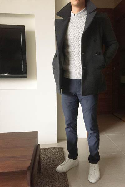 tenue professionnelle homme hiver
