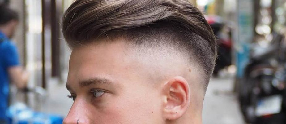 coiffure homme undercut