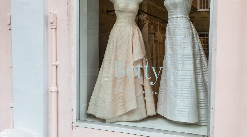 Wedding Dresses and Sand Bags