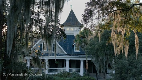 Magnolia Plantation House, Ashley River Side