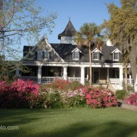 Magnolia Plantation House, Azaleas