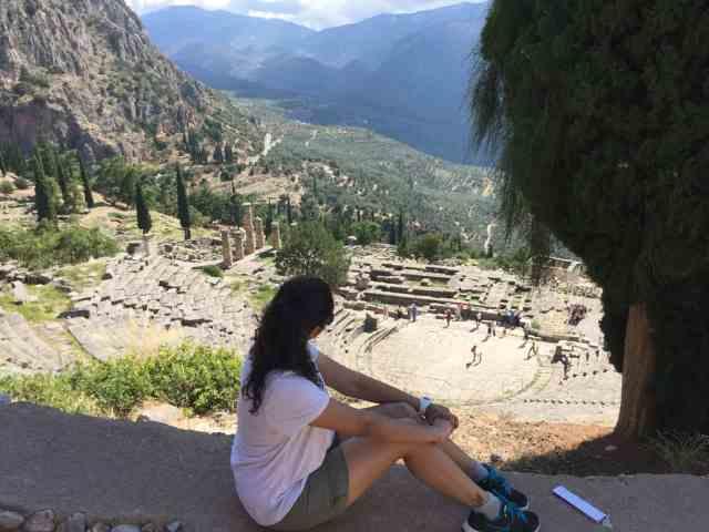 A day trip to Delphi