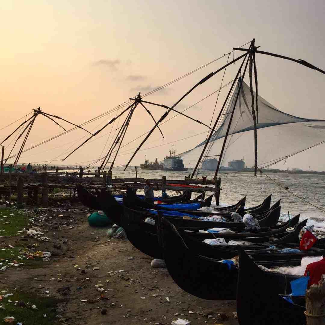 Fishing nets kochi