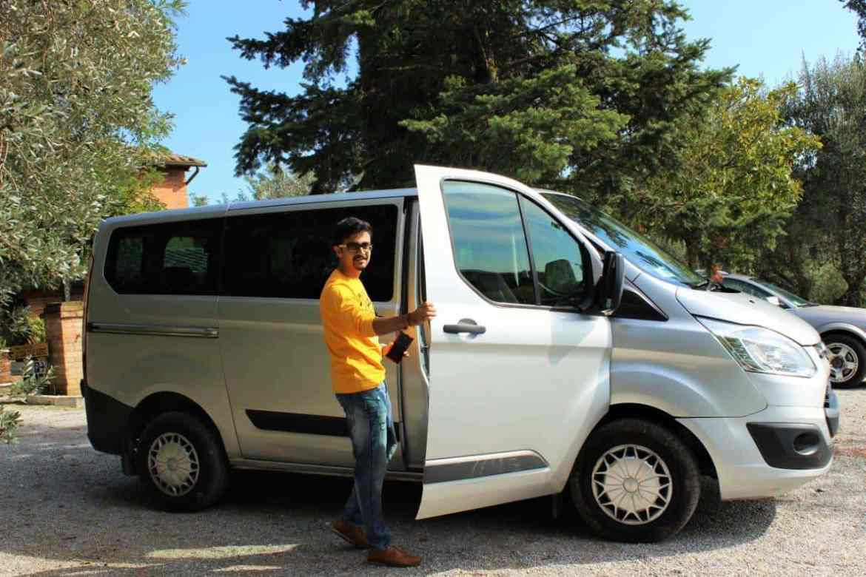 Replacement Car in Pisa, Italy