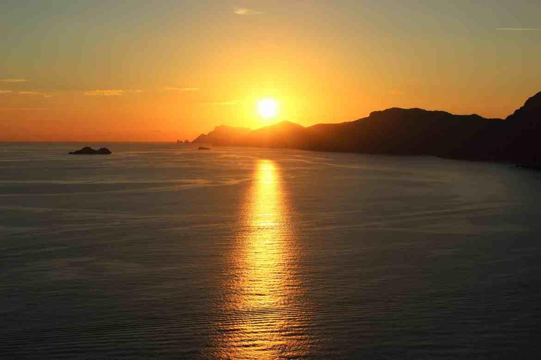 Sunset, Amalfi