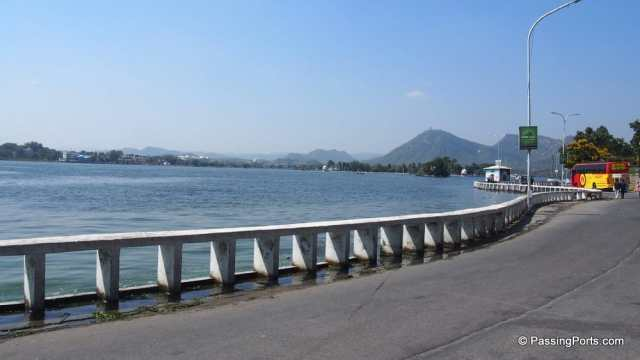 Fatehsagar Lake in Udaipur