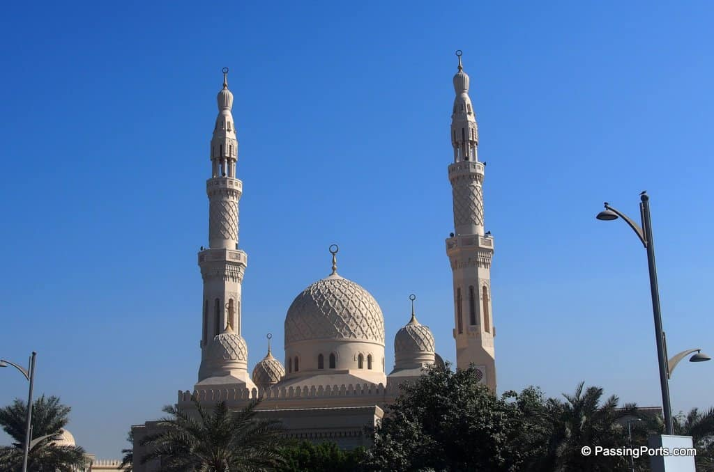 Jumeriah Mosque in Dubai
