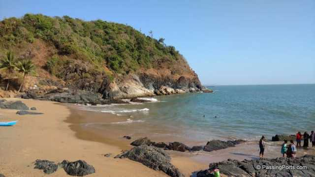 One of the most happening party beaches in Gokarna