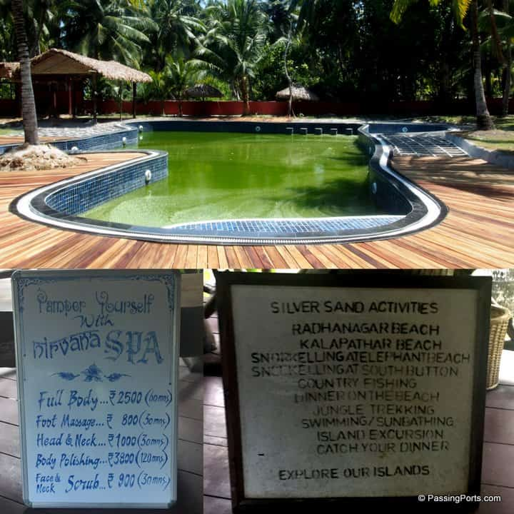 Spa, swimming and other activities