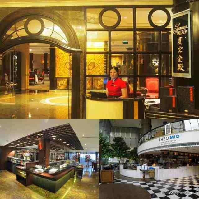 Multiple restaurants in ICC Bangkok