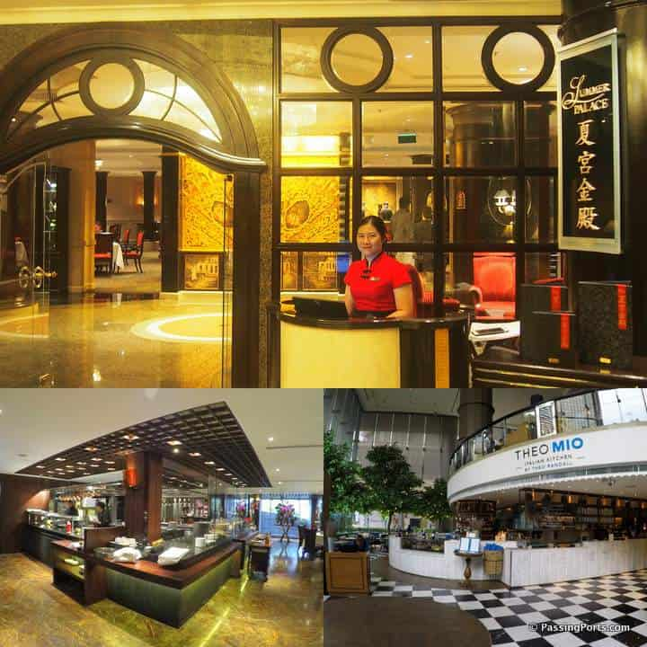 Multiple restaurants in ICC Bangkok