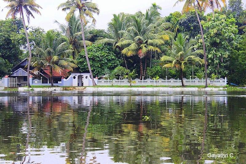 Kurialachery House in Kerala