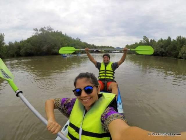 Kayak in Krabi