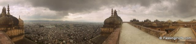 The view from Nahargarh Fort