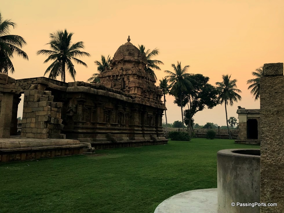 One of the best archtectures of the Chola Dynasty
