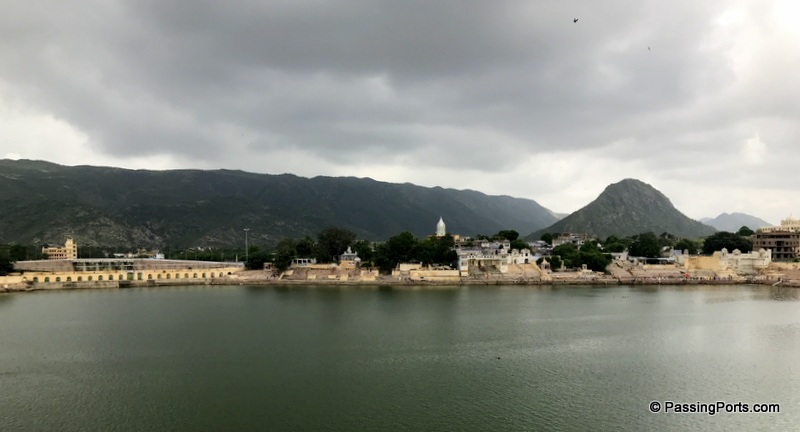 The holy lake in Pushkar
