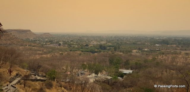 View from Aurangabad Caves