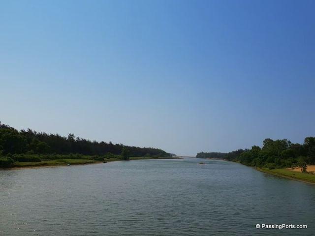 Beautiful landscape in Puri