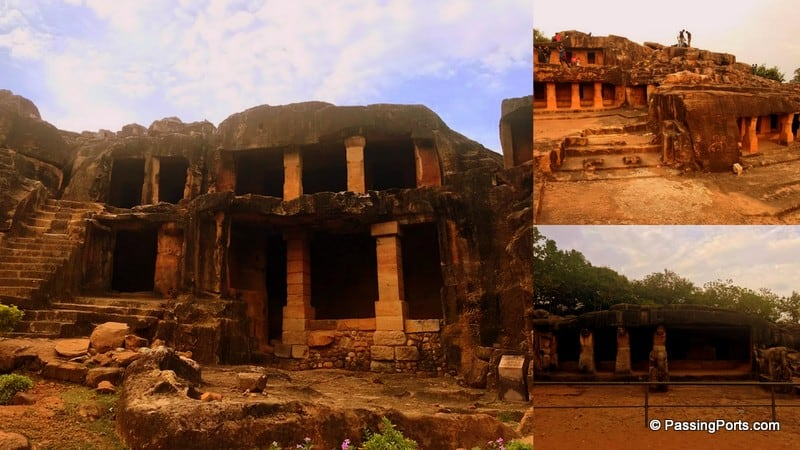 Jain Monks lived in Udayagiri Caves