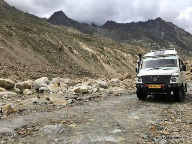 Spiti valley roads