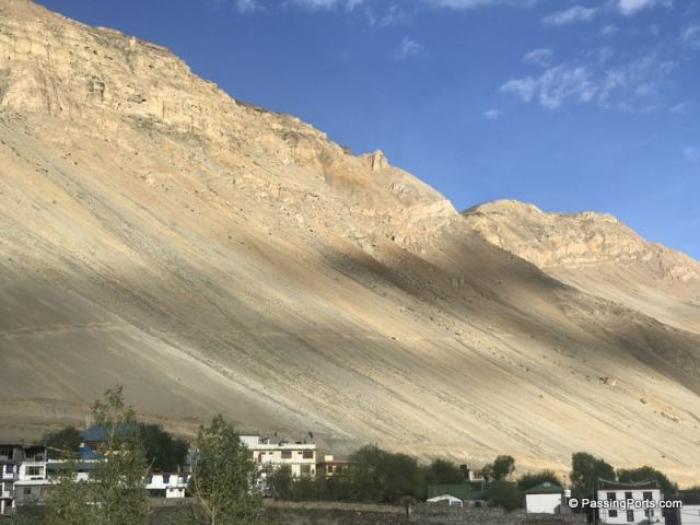 Mountains in Kaza
