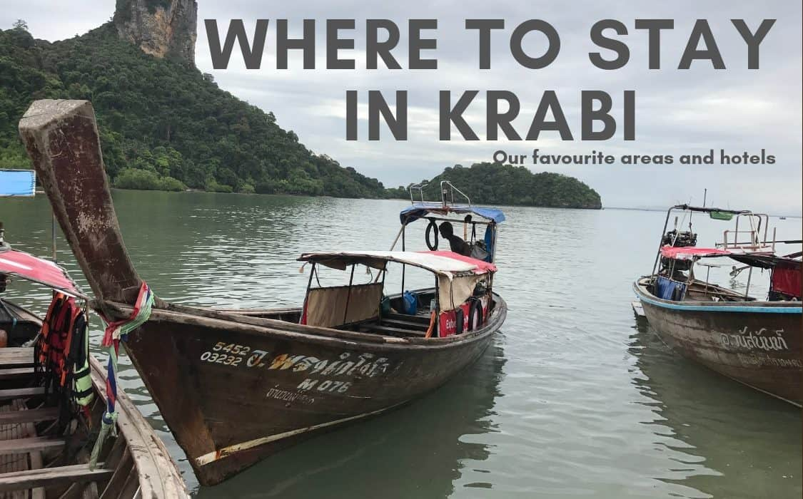 Where to stay in Krabi - for first timers, solo travellers and families